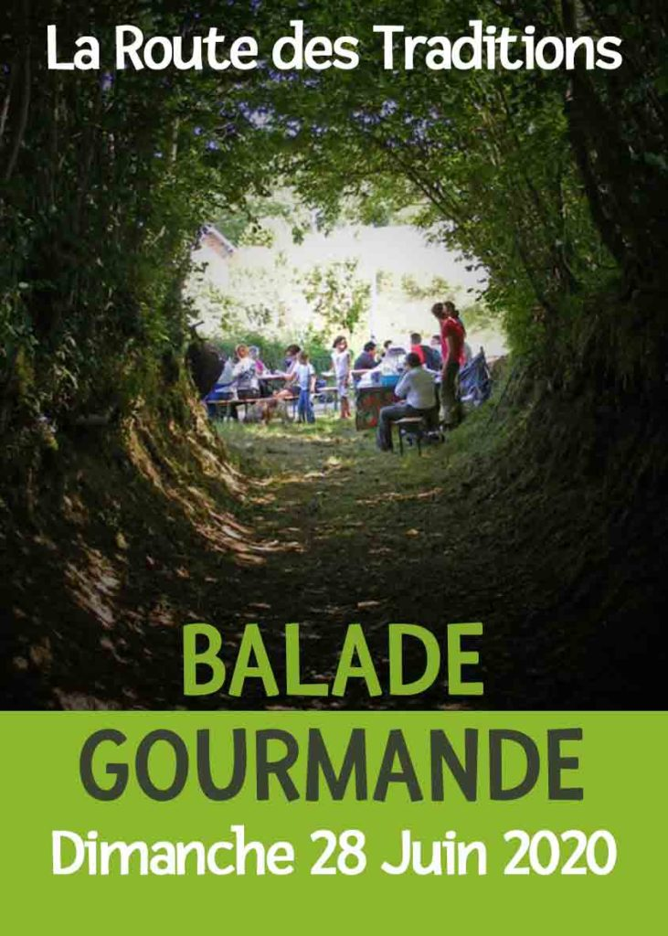 Balade Gourmande 2020 - Route des Traditions